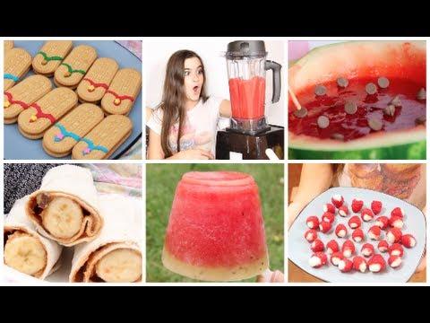 DIY Summer Picnic! 5 Cute Snacks | CloeCouture