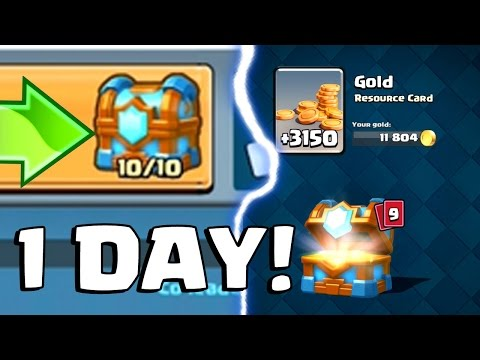 TIER 10 CLAN CHEST IN 1 DAY | Clash Royale | Maxed Clan Chest Opening