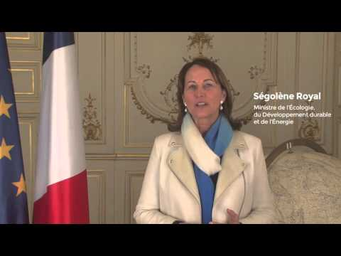 Ségolène Royal, COP21 President, French Minister of Ecology, Sustainable Development, and Energy