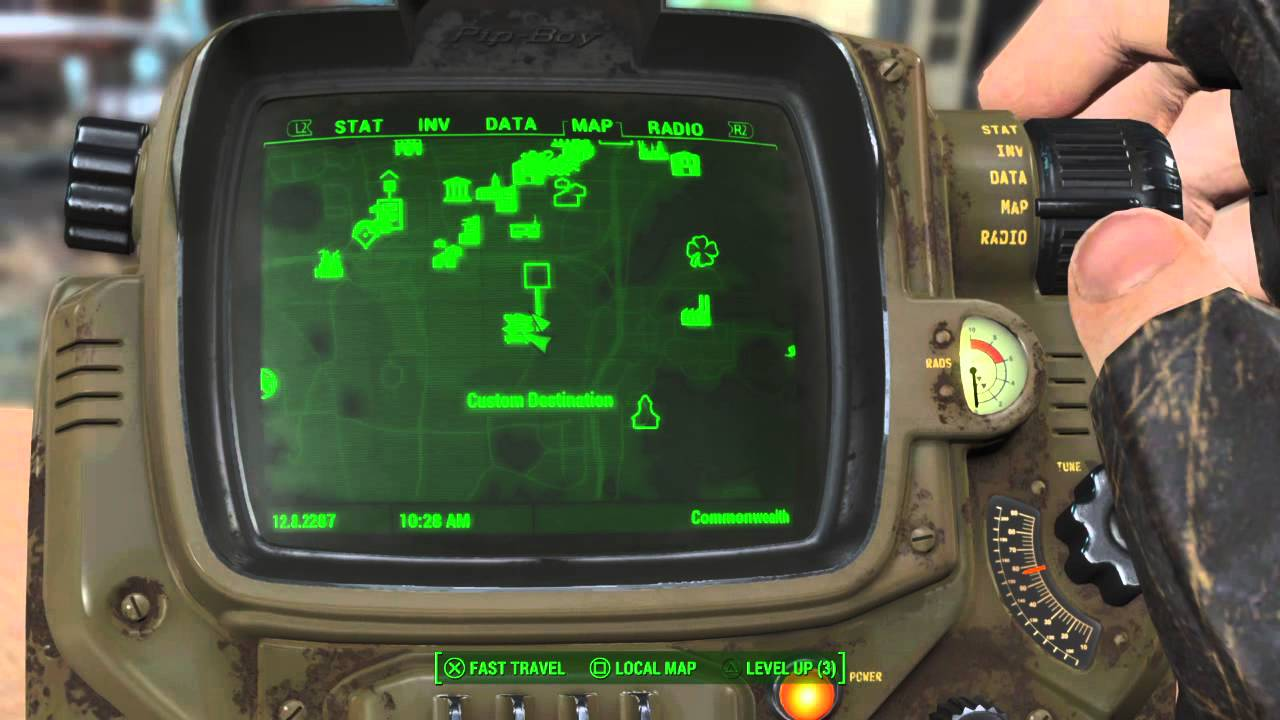 fallout 4 location of railway gun tips and tricks youtube