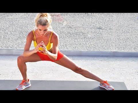 Burn Calories & Tone From Head to Toe in 35 min - Bodyweight No Equipment Workout