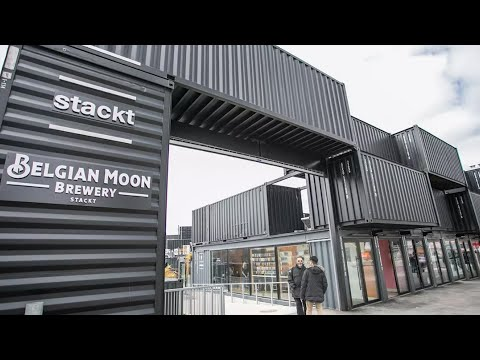 Stackt Market is Toronto's first shipping container market