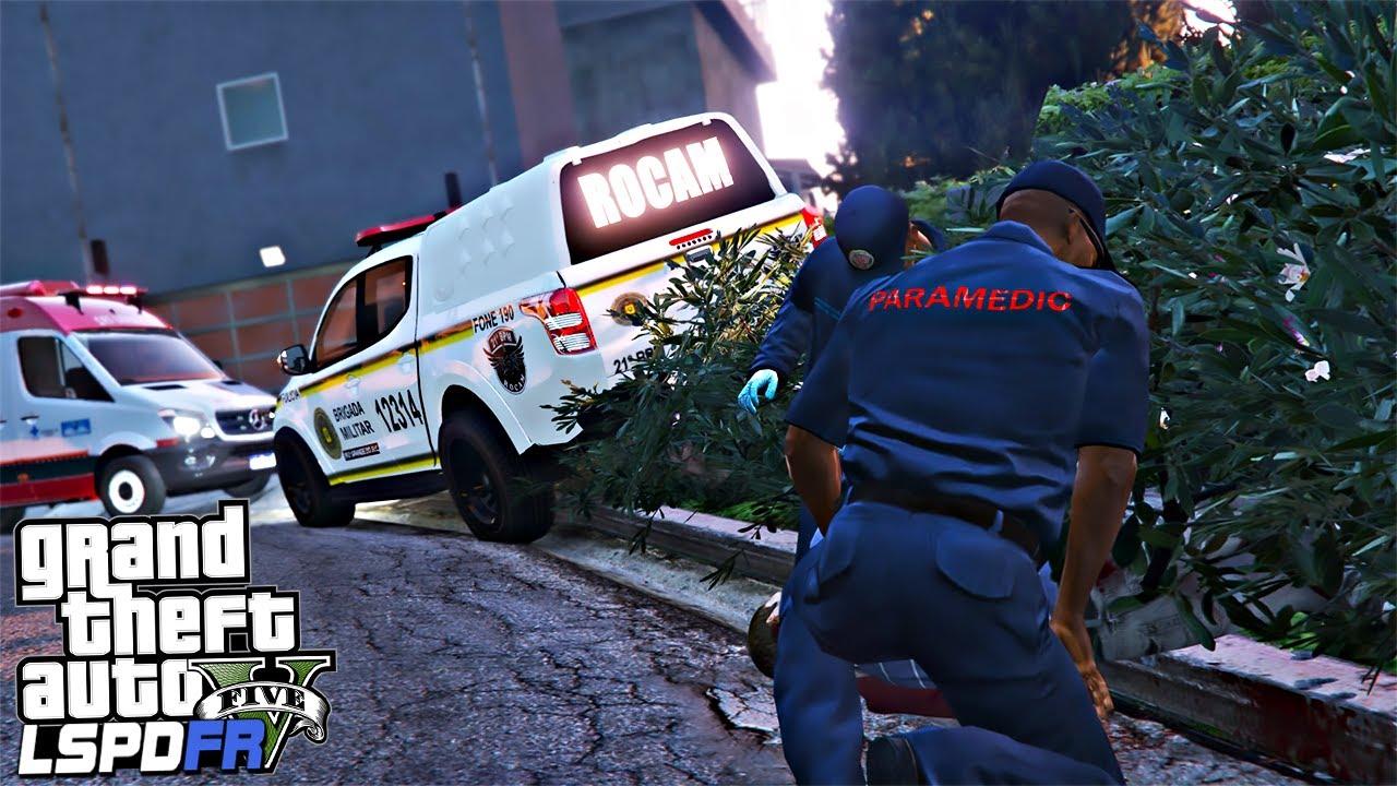 Download CHAMOU A POLICIA PARA TROCAR TIRO!! - BMRS - GTA V Rotina Policial force games