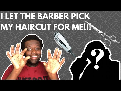 I LET A BRAND NEW BARBER CHOOSE MY HAIRSTYLE!!! thumbnail