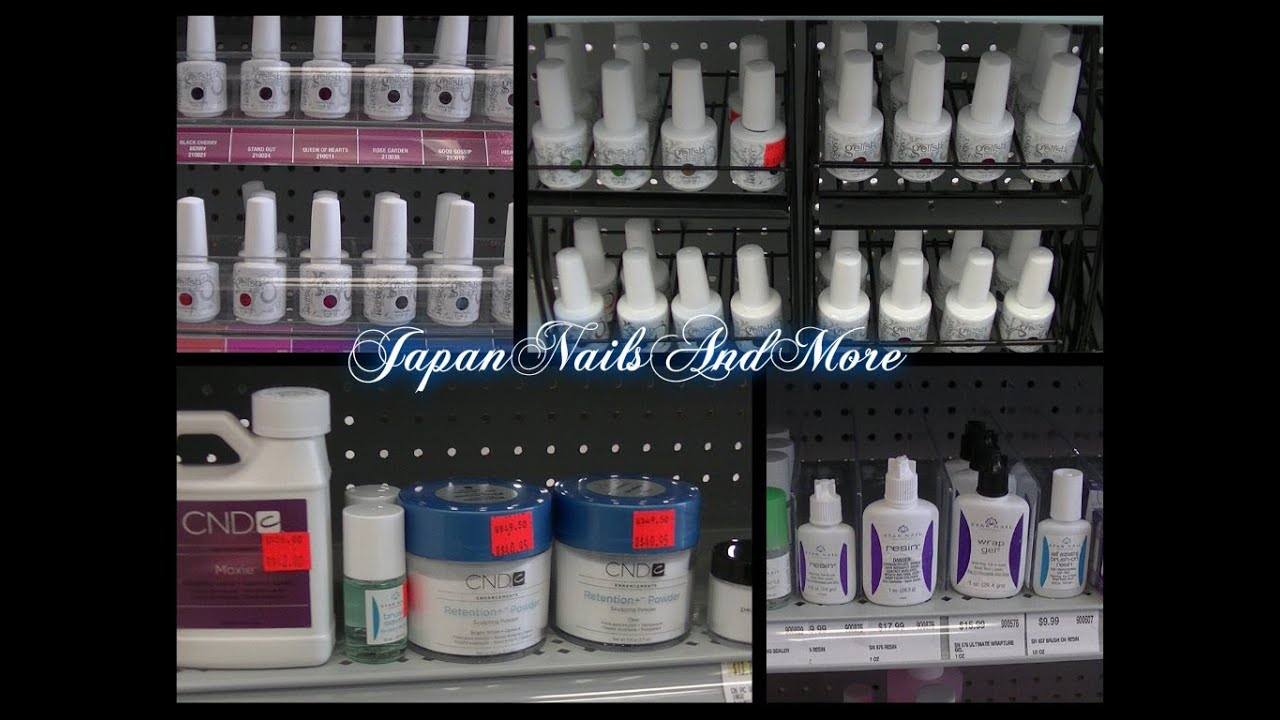 Cosmoprof professional nail supply store - YouTube