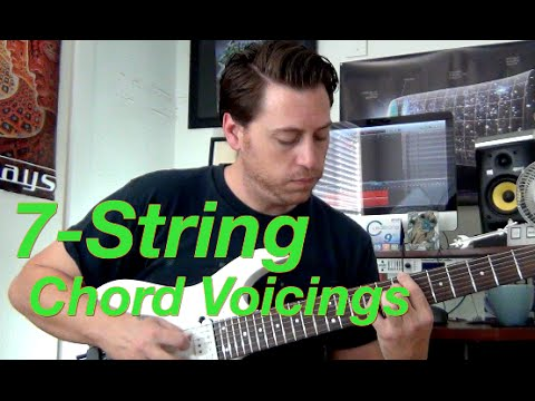 7 string guitar chord lesson