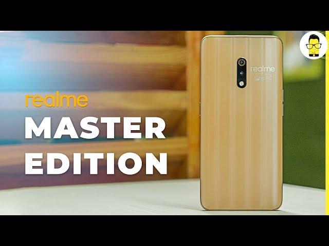 Realme X Master Edition unboxing and comparison with Polar White