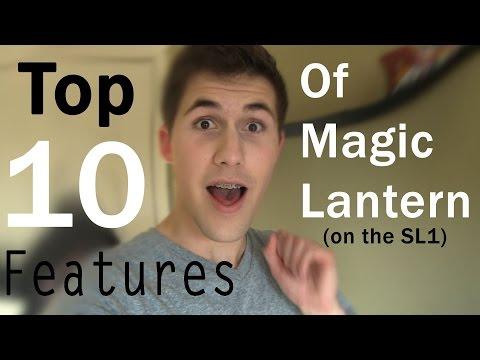 Top 10 Features of Magic Lantern (SL1)