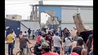 Explosión en empresa pesquera de Manta