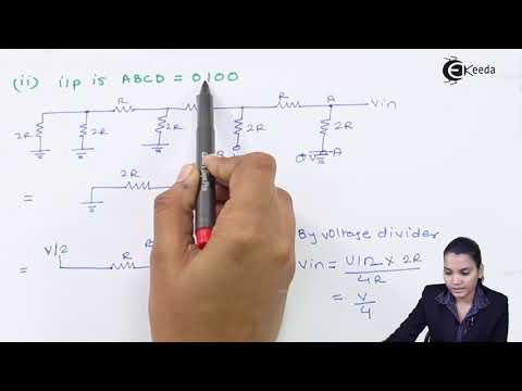 R 2R Ladder DA Converter - A/D and D/A Converters - Application of Electronics Class 12