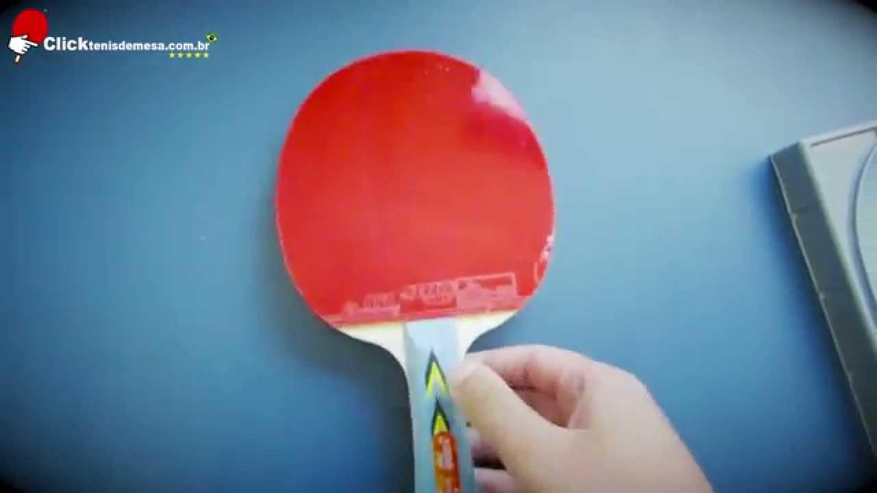 b7777597f Informação sobre Raquete de Tênis de Mesa 3002 Clássica DHS - YouTube