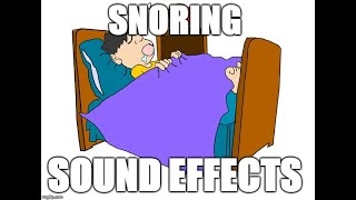 Snoring - Sound effects