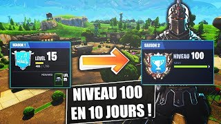 (ASTUCES) PASSER LIVE 100 IN 10 DAY OF GAME ON FORTNITE!