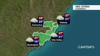 Previsão Grande Vitória – Sol entre nuvens