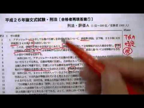 『予備試験合格レベルの答案構造【刑法】』(原孝至先生)[予備試験][法科大学院入試]