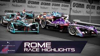 Formula E Rome E-Prix Race Highlights! (DS Virgin Racing S4 R7)