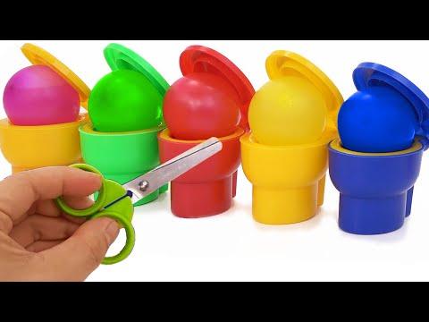 Impara i Colori con Play Doh filastrocche canzoni per bambini#5