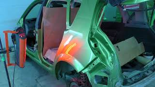 Renault Scenic Рено Сценик ремонт кузова Нижний Новгород