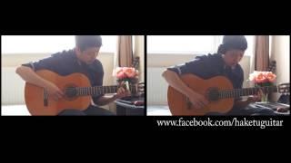 [Guitar Duet]Thằng cuội Guitar [Tôi thấy hoa vàng trên cỏ xanh] OST Cover [2 Guitars]