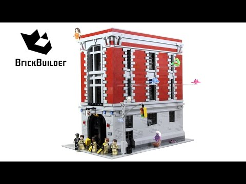 Lego Ghostbusters 75827 Firehouse Headquarters - Lego Speed Build