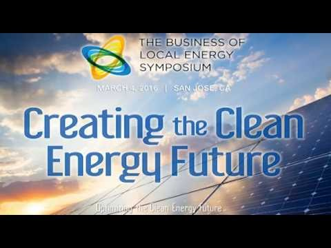 LYNDON RIVE Interview, 2016 Business of Local Energy Symposium