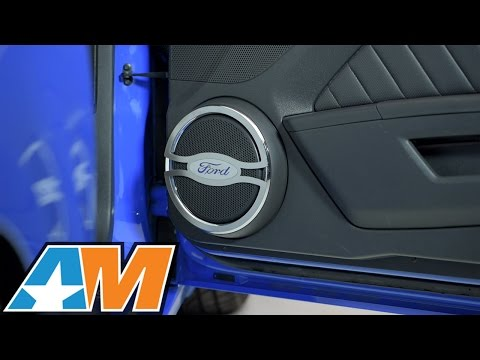 2010-2014 Mustang Speaker Trim W/ Ford Oval Logo Review & Install