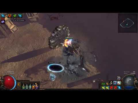 Path of Exile 3 2] Fenumus' Lair Chaos Spider Bestiary Boss