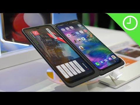 LG G8X ThinQ Flatout CONFUSING foldable