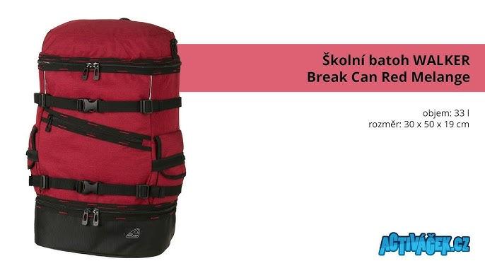 Batoh Walker Break Can Red Melange 64454273f8