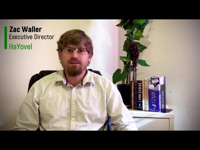 Zac Waller  of HaYovel Invites You to Come to the Altar of Prayer for Aliyah