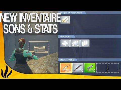 NEW INVENTAIRE, SONS & STATS DE FIN ! (Fortnite: Battle Royale)