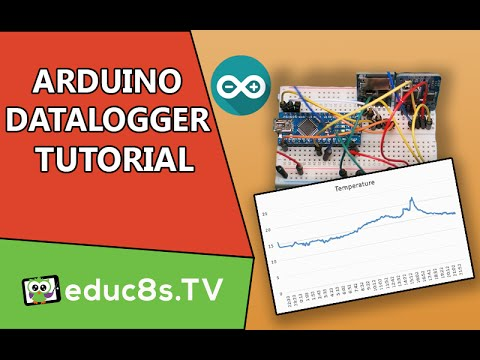 Arduino temperature logger project - Tutorial45