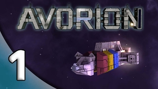 Avorion - 1. Playful Pirate - Let's Play Avorion Gameplay