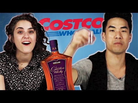 Costco Liquor Vs. Brand-Name Liquor Blind Taste Test