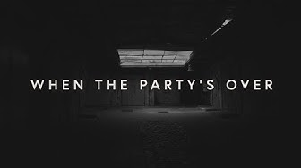 Lewis Capaldi - when the party's over (lyrics)
