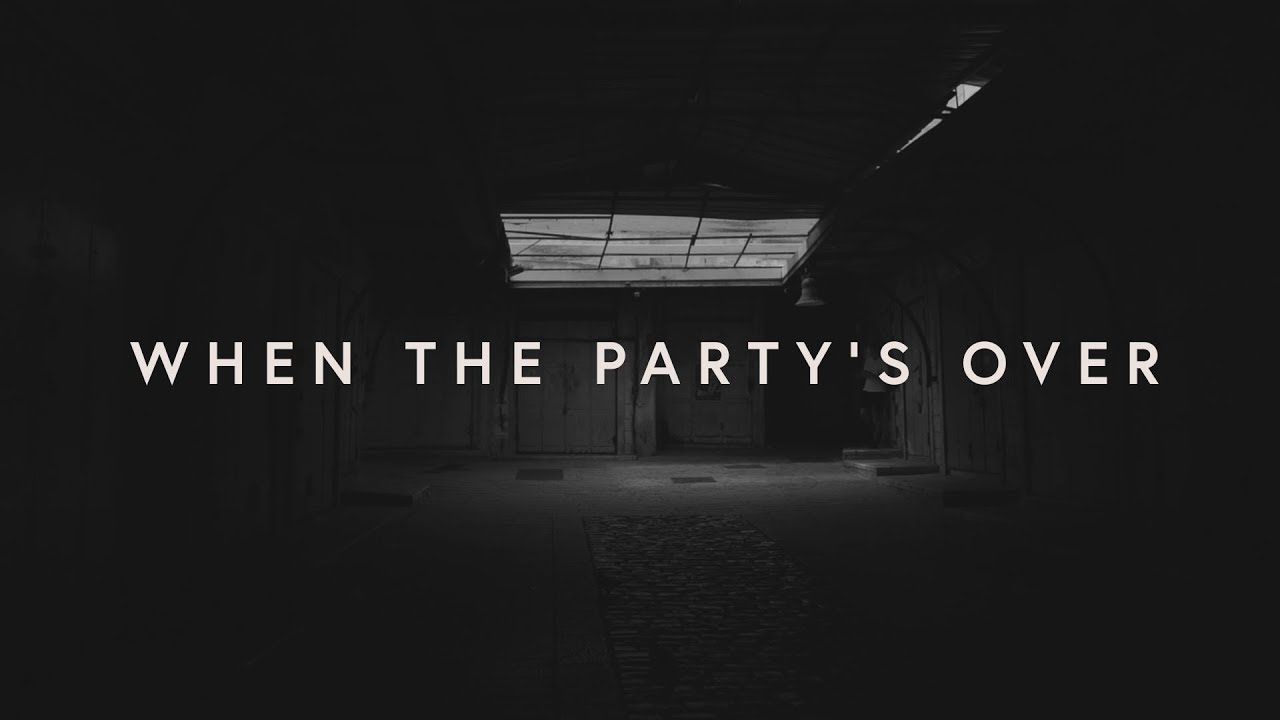 Lewis Capaldi - ​when the party's over (lyrics)