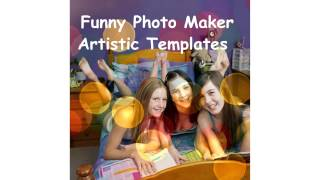 81 Free Artistic Templates from Freeware Funny Photo Maker