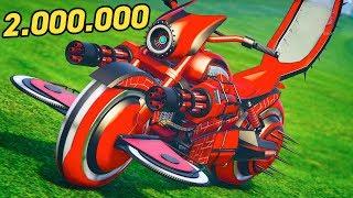 КУПИЛ МОТОЦИКЛ СМЕРТИ ЗА 2.000.000 $ В GTA 5 ONLINE! Обновление