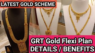 #GRT Golden Ten Flexi Plan | 50% Discount on wastage| GRT JEWELLERY All over India Details /Benefits