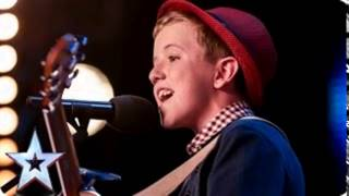 Henry Gallagher sings his own song Lightening - Audition Week 2 - BGT 2015 - ONLY SOUND