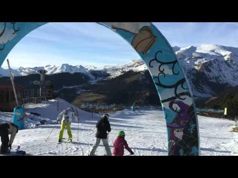 1º dia de esqui em Andorra (Grandvalira, Canillo)