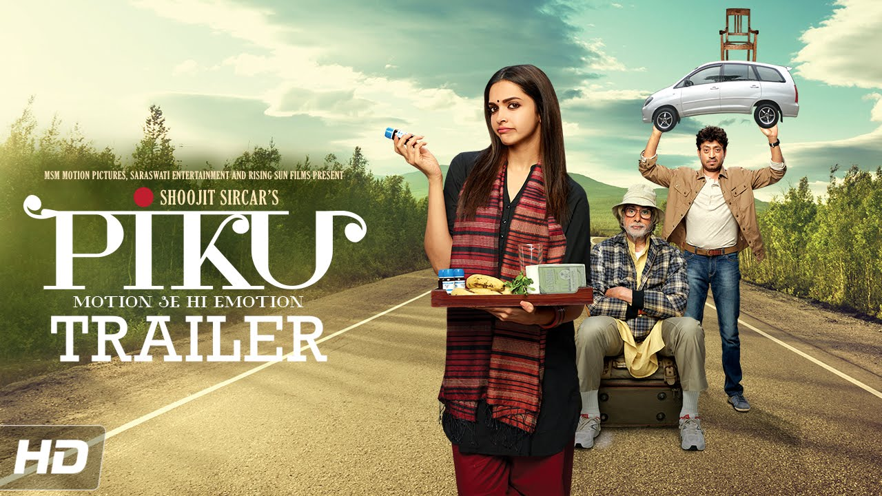 PIKU Motion Se Hi Emotion Official Trailer | Amitabh Bachchan, Deepika Padukone, Irrfan Khan