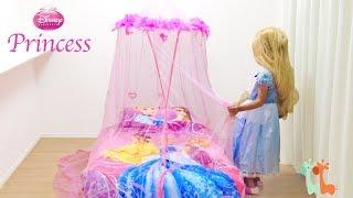 ディズニー プリンセスベッド お姫様 / DIY Disney Princess Canopy Bed
