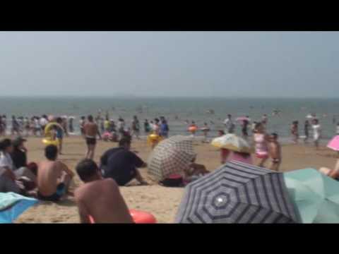 We went to Bayuquan Beach