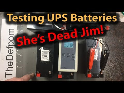🔴 #370 12V SLA Battery Resistance Testing