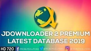 Jdownloader 2 Premium Latest Database 2019 Youtube