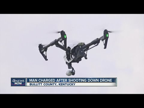 Dad shoots down drone hovering over sunbathing daughter from YouTube · Duration:  1 minutes 8 seconds