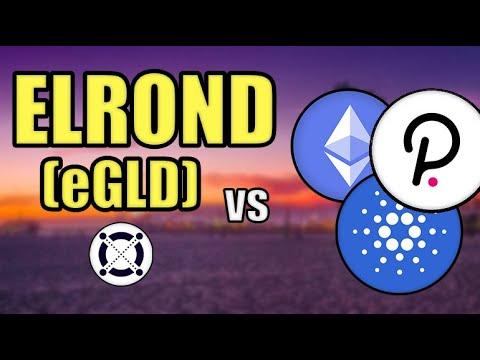 Elrond (eGLD) vs Cardano, Ethereum, & Polkadot! (BIG ELROND PRICE PREDICTION) Hashoshi