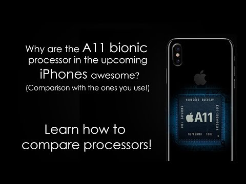 Why Apple A11 bionic processor chip is badass? iPhone X benchmark compared to others | vs Snapdragon