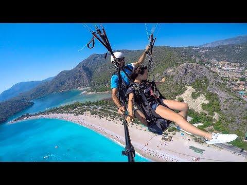 Paragliding Ölüdeniz Türkiye | Sky Sports | Esra Çiçek | HD